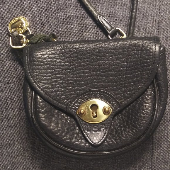 Dooney & Bourke Kilt Bag Black Leather